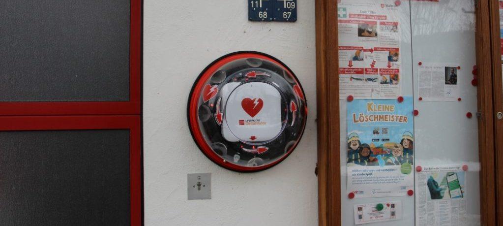 Defibrillator in Hub
